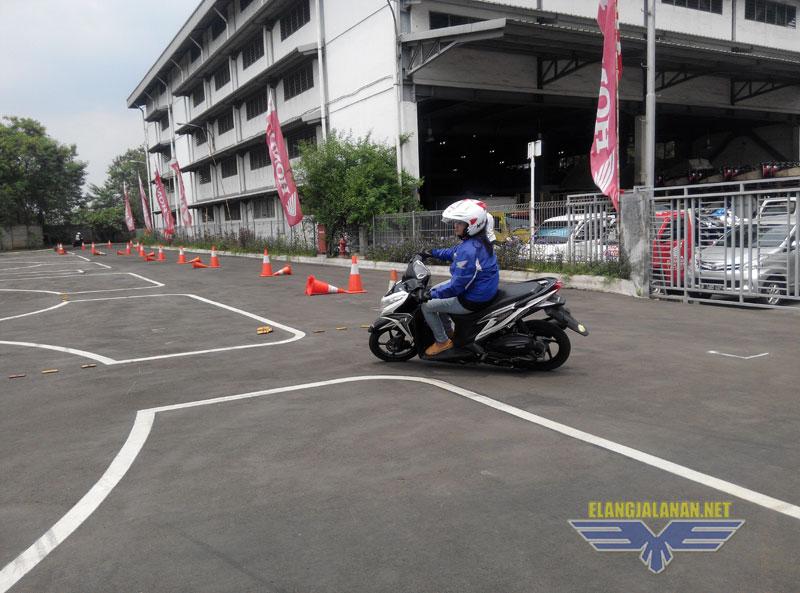 Safety Riding Honda