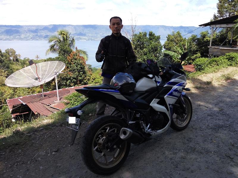 Solo riding Medan - Danau Toba, tunai sudah kerinduan akan lintas Sumatera Utara - ElangJalanan.NET