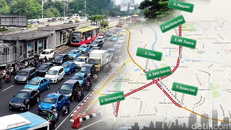 pembatasan lalu lintas ganjil genap