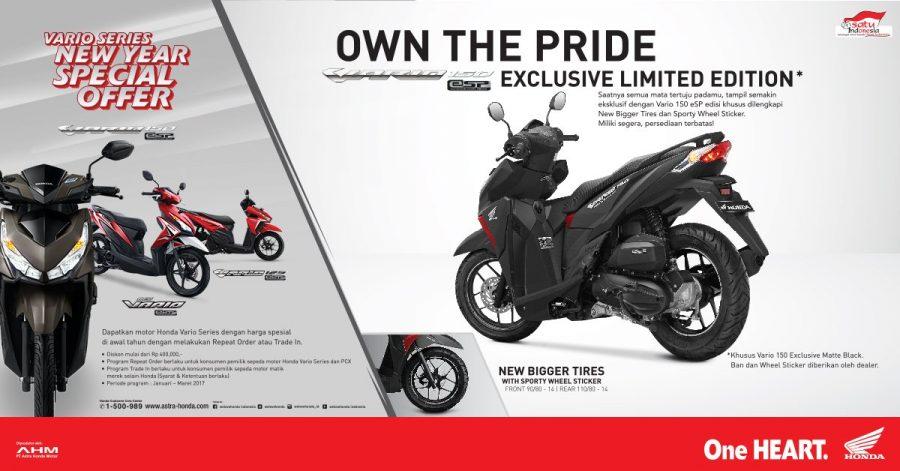 Vario 150 Exclusive Limited Edition