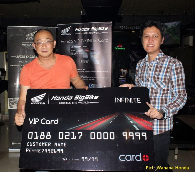 Honda VIP Infinite Card