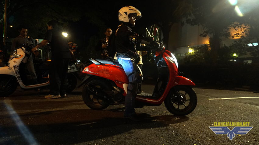 Test Ride singkat New Scoopy 2017