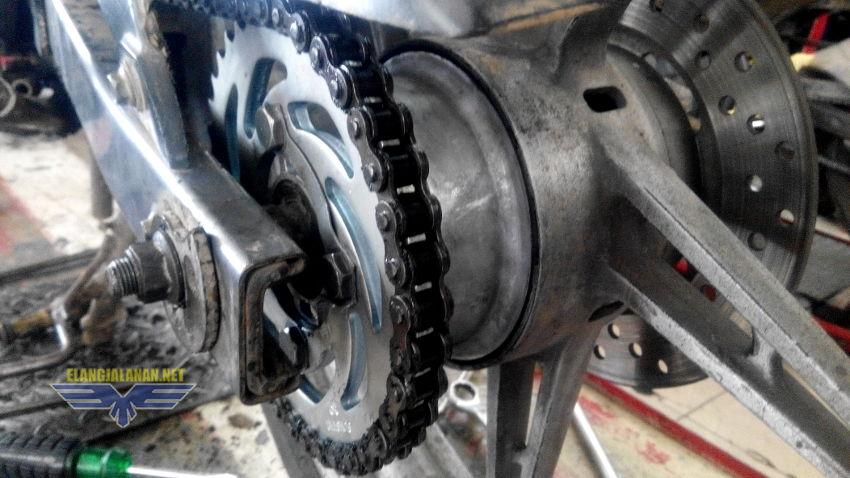 rumah gear roda belakang MX