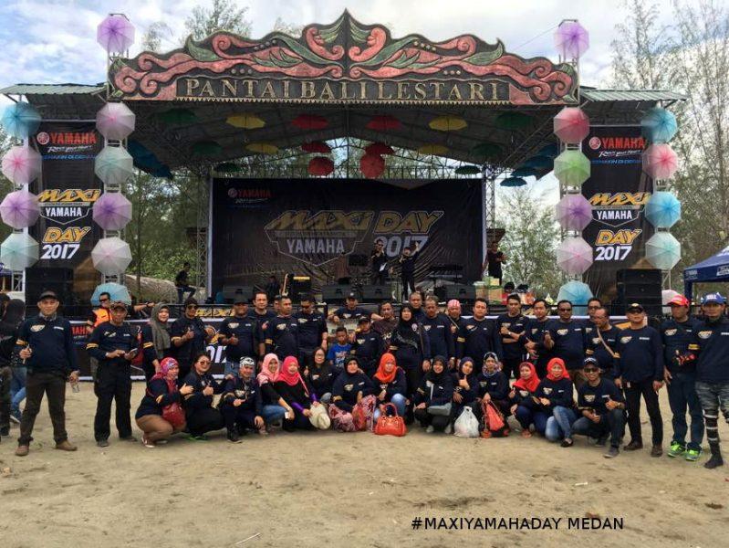 #MAXIYAMAHADAY Sambangi Medan