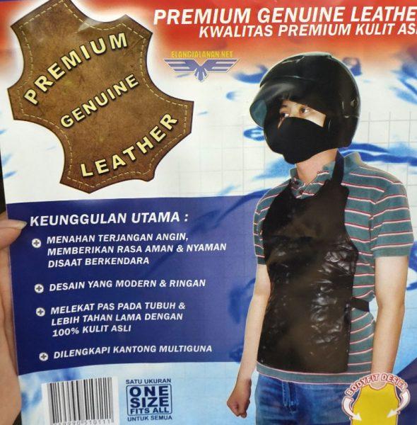 Body Protector untuk penahan angin