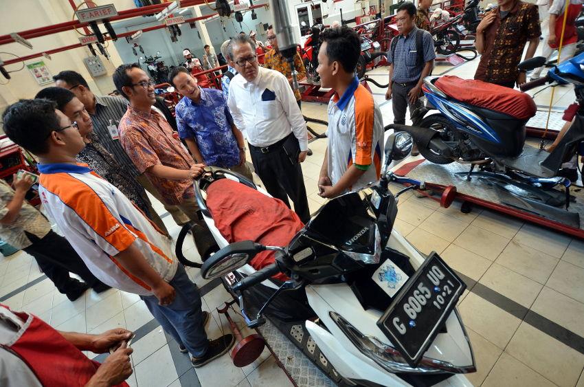 SMK Binaan Main Dealer Honda