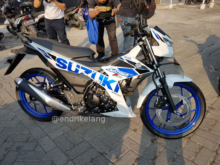 Warna Baru Suzuki Satria F150