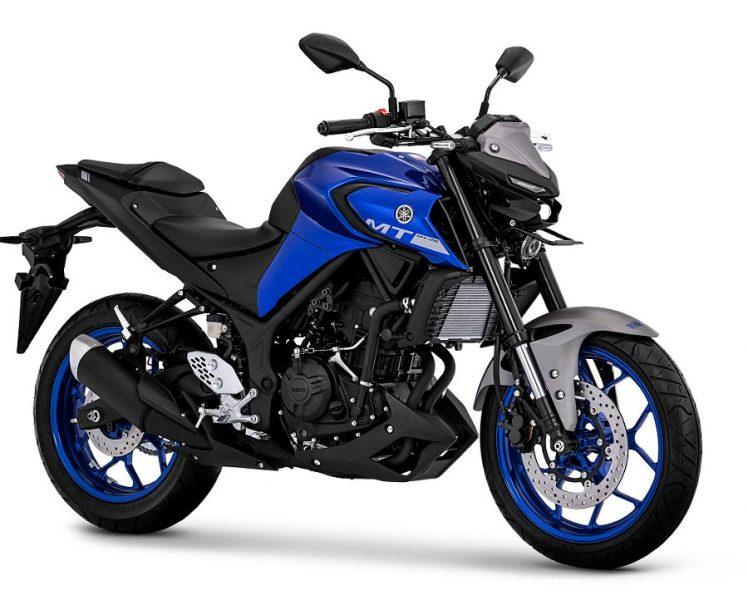New Yamaha MT25 Metallic Blue