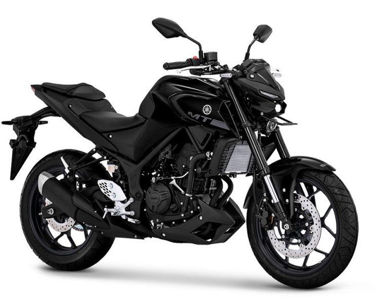 New Yamaha MT25 Metallic Black