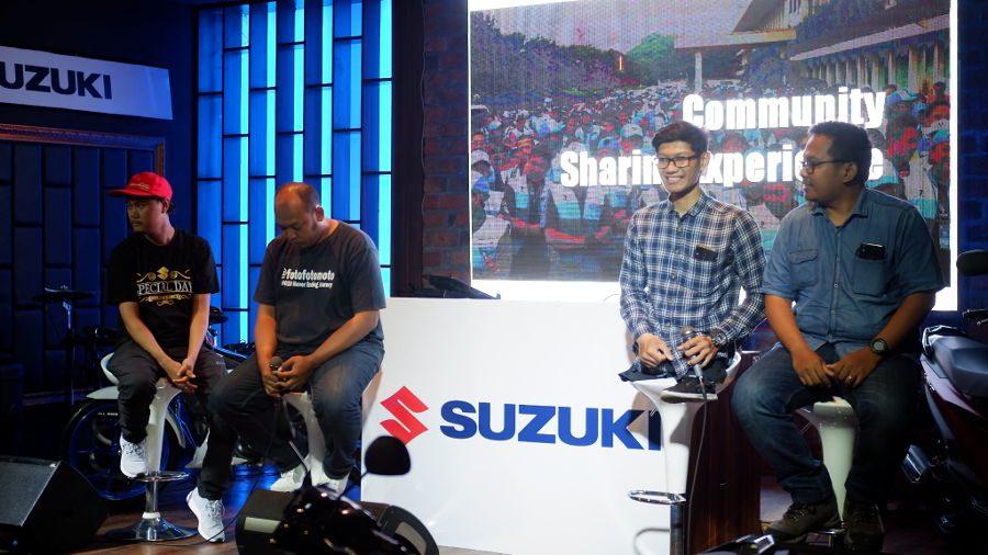 Sharing dari Rider Suzuki