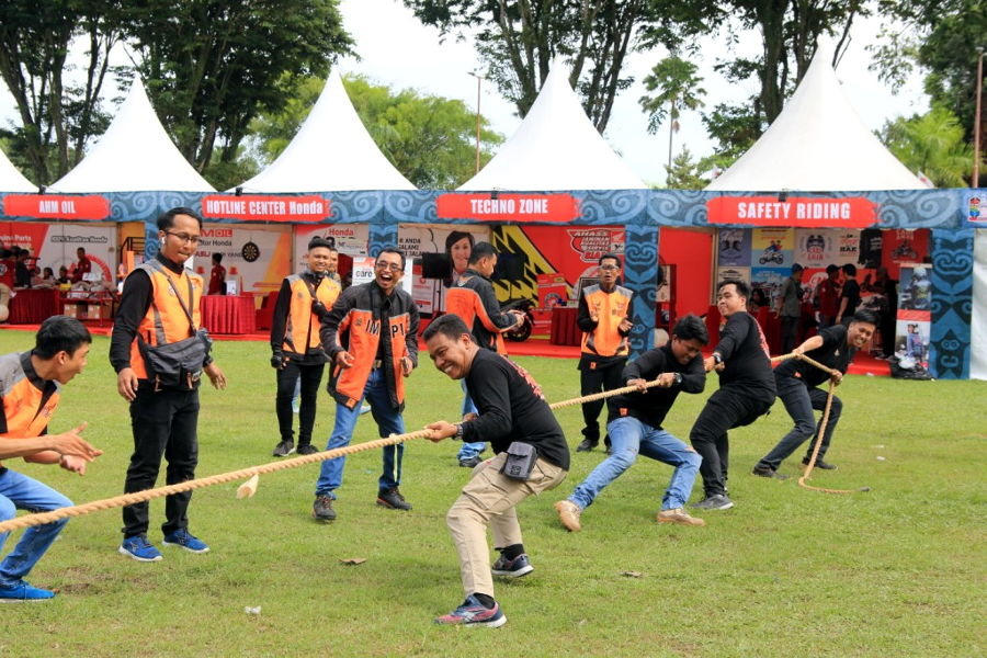 Permainan Games Honda Bikers Day