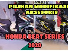 Modifikasi dan Aksesoris All New Honda BeAT